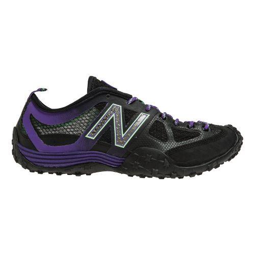 Womens New Balance WX007 Cross Training Shoe - Black/Purple 8.5