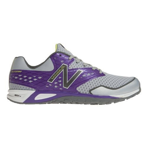 Womens New Balance WX00 Cross Training Shoe - Grey/Purple 10.5