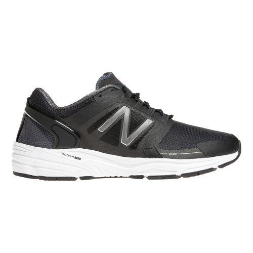 Mens New Balance 3040v1 Running Shoe - Black/Magnet 10.5