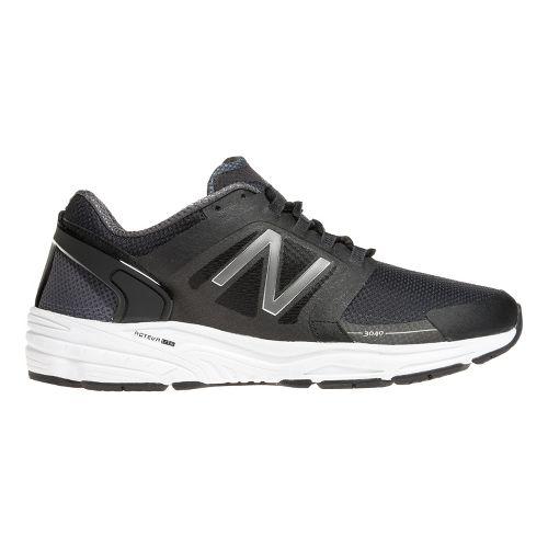 Mens New Balance 3040v1 Running Shoe - Black/Magnet 11.5