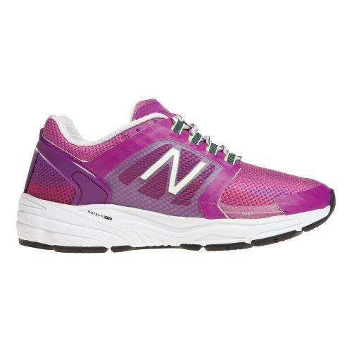 Womens New Balance 3040v1 Running Shoe - Poison Berry/Plum 9.5