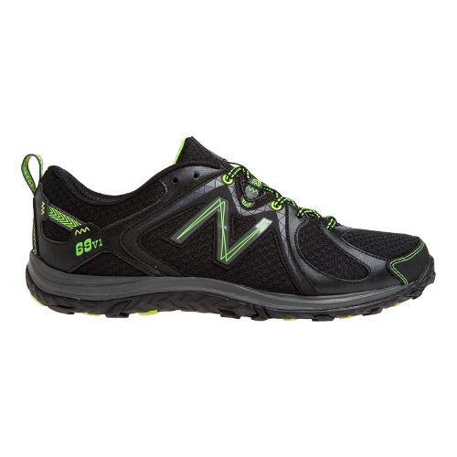 Mens New Balance 69v1 Hiking Shoe - Black/Yellow 11.5