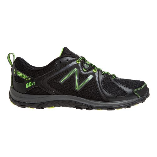 Mens New Balance 69v1 Hiking Shoe - Black/Yellow 8.5