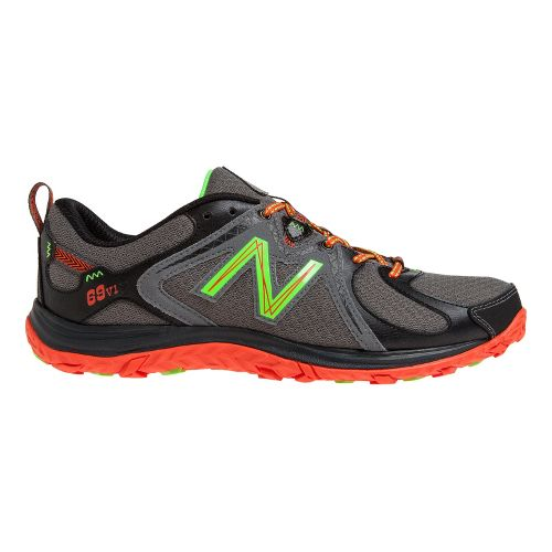 Mens New Balance 69v1 Hiking Shoe - Grey/Red 7.5