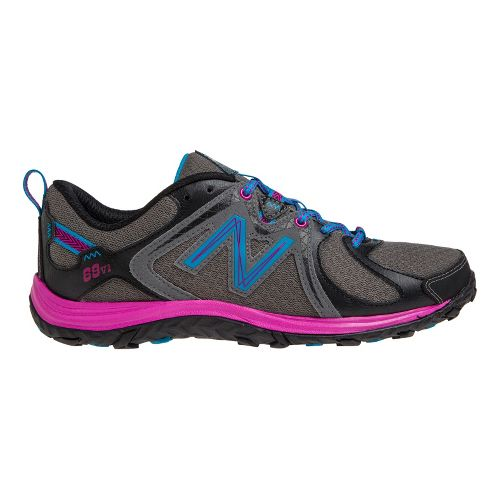 Womens New Balance 69v1 Hiking Shoe - Grey/Pink 6.5