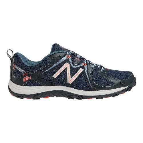 Womens New Balance 69v1 Hiking Shoe - Navy/White 6.5