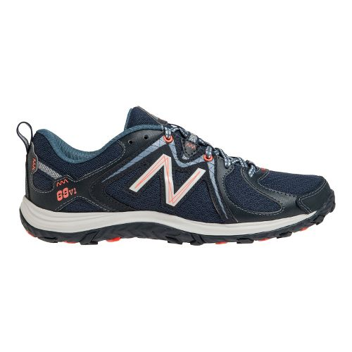 Womens New Balance 69v1 Hiking Shoe - Navy/White 8