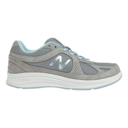 Womens New Balance 877 Walking Shoe - Silver 6.5