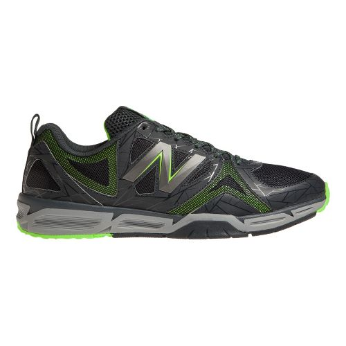 Mens New Balance 797 Cross Training Shoe - Grey/Green 12.5