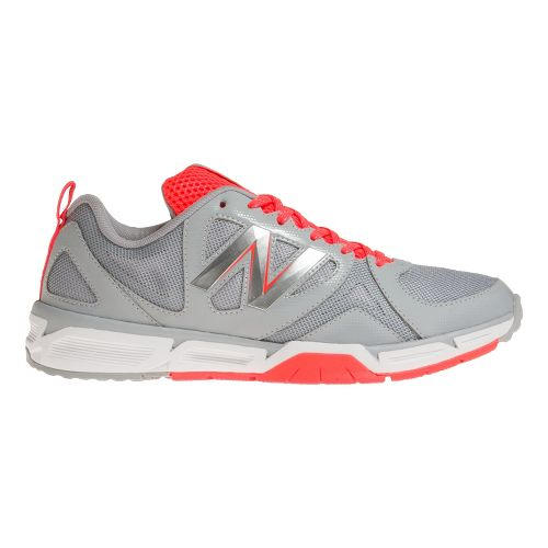 Womens New Balance 797 Cross Training Shoe - Grey/Coral 8.5