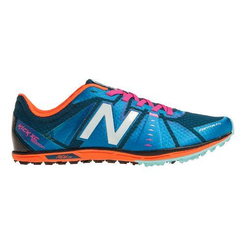 Womens New Balance XC5000v1 Cross Training Shoe - Blue/Orange 11.5