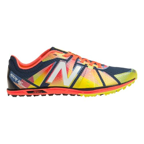 Womens New Balance XC5000v1 Cross Training Shoe - Yellow/Red 9.5