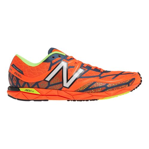 Mens New Balance RC1600v2 Cross Country Shoe - Orange/White 6.5