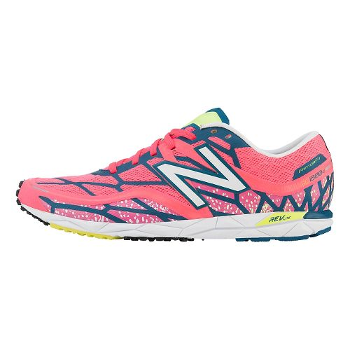 Womens New Balance RC1600v2 Cross Country Shoe - Pink/Blue 6.5