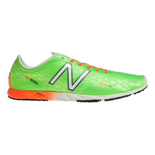 Mens New Balance RC5000v1 Cross Country Shoe - Green/Orange 4.5