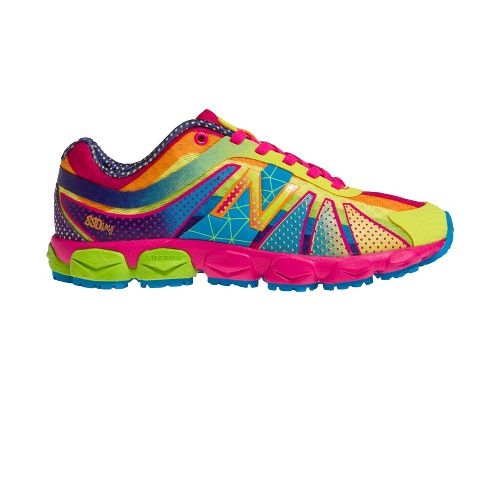 Kids New Balance Kids 890v4 G Running Shoe - Polka Dot Rainbow 5.5