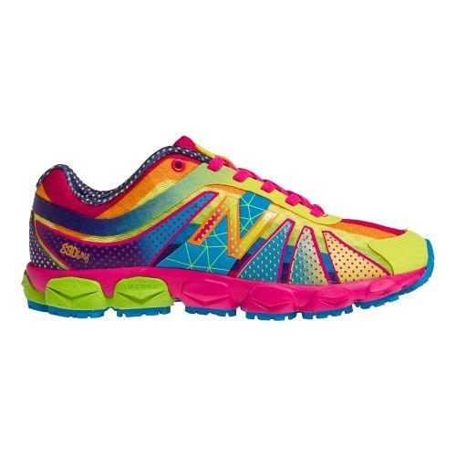 Kids New Balance Kids 890v4 P Running Shoe - Polka Dot Rainbow 1.5