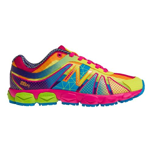 Kids New Balance Kids 890v4 P Running Shoe - Polka Dot Rainbow 1.5