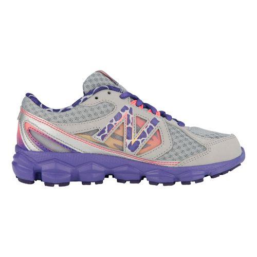 Kids New Balance Kids 750v3 Y Running Shoe - Dark Grey/Purple 2