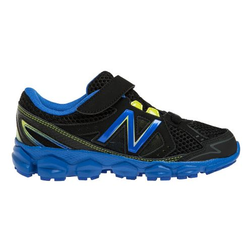 Kids New Balance Kids 750v3 P Running Shoe - Black/Blue 2