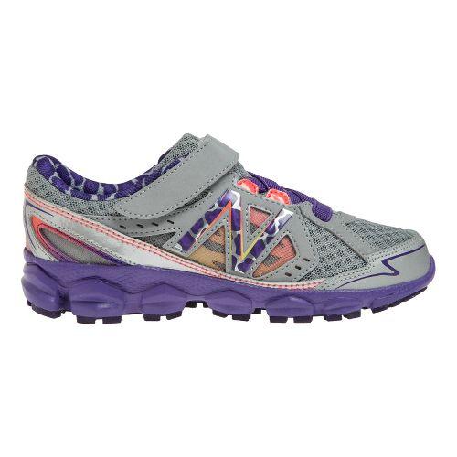 Kids New Balance Kids 750v3 P Running Shoe - Dark Grey/Purple 10.5