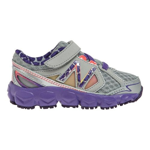 Kids New Balance Kids 750v3 I Running Shoe - Dark Grey/Purple 6.5
