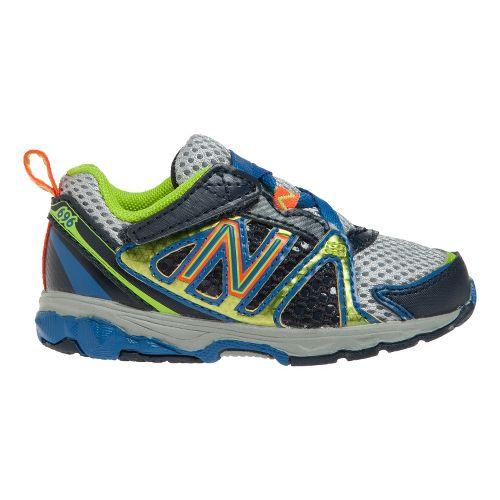 Kids New Balance Kids 696 I Running Shoe - Classic Blue 7.5