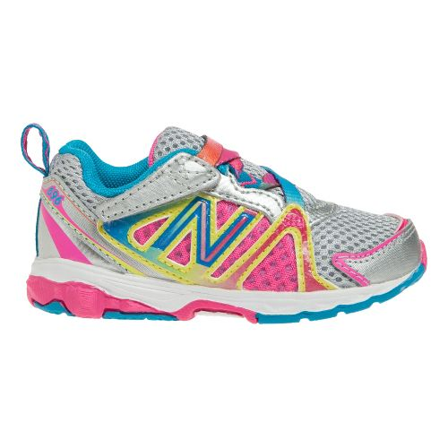 Kids New Balance Kids 696 I Running Shoe - Rainbow 3