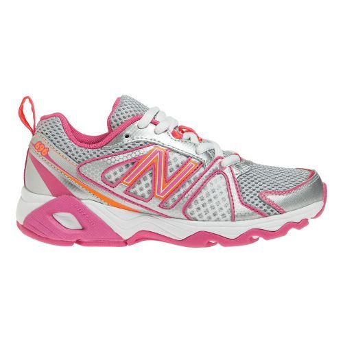 Kids New Balance Kids 696 Y Running Shoe - Pink/Orange 3