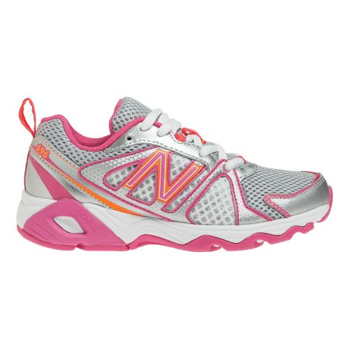 Kids New Balance Kids 696 Y Running Shoe - Pink/Orange 4