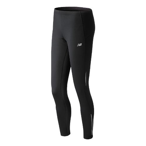 Womens New Balance NB Heat Fitted Tights - Black M