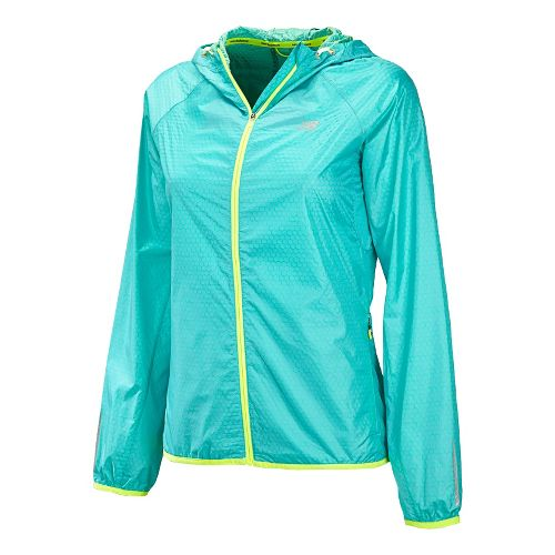 Womens New Balance Shadow Run Running Jackets - Paradise L