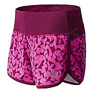 Womens New Balance Impact 4 Printed Splits Shorts