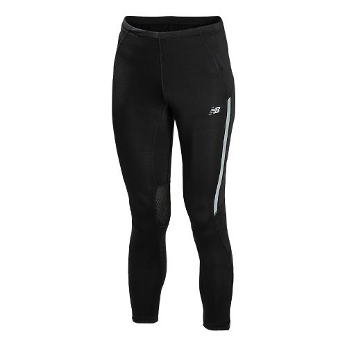 Womens New Balance Impact Fitted Tights - Black M