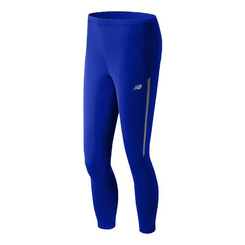Womens New Balance Impact Fitted Tights - UV Blue XS