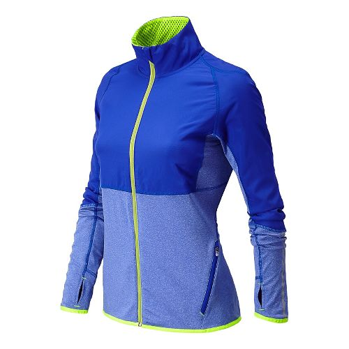 Womens New Balance Raptor Running Jackets - UV Blue XL