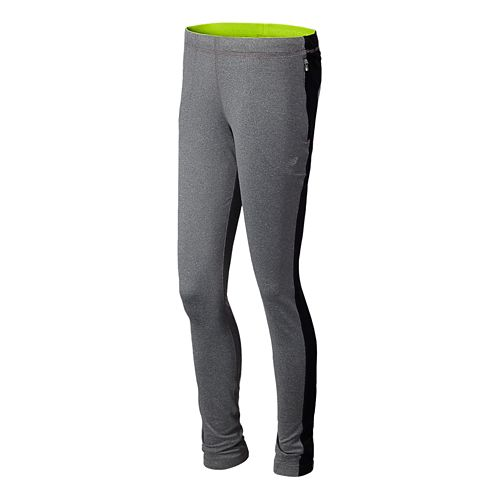 Womens New Balance Gazelle Knit Full Length Pants - Anthracite L