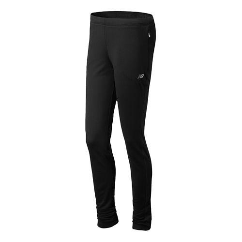 Womens New Balance Gazelle Knit Full Length Pants - Black XXL