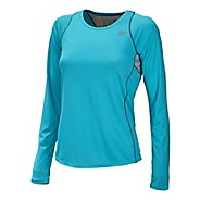 Womens New Balance Accelerate Long Sleeve No Zip Technical Top