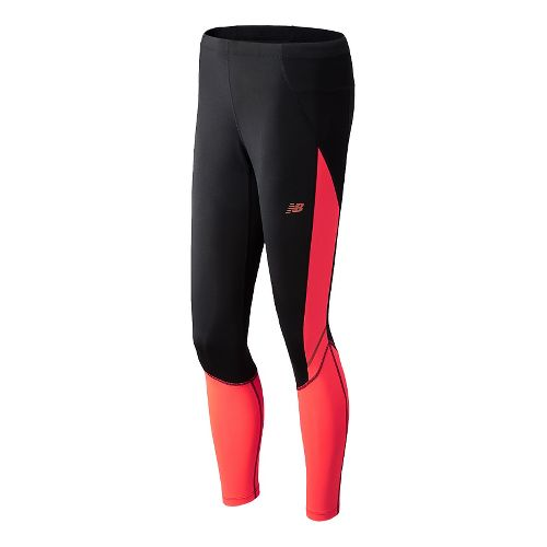 Womens New Balance Go2 Fitted Tights - Dragonfly M