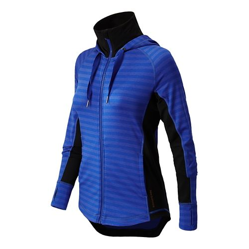 Womens New Balance Achieve Running Jackets - UV Blue XL