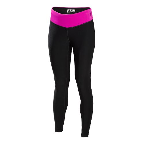 Womens New Balance Achieve Legging Fitted Tights - Poisonberry S
