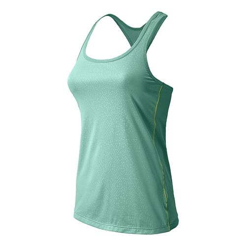 Womens New Balance Vitalize Layer Tanks Technical Tops - Glacier M