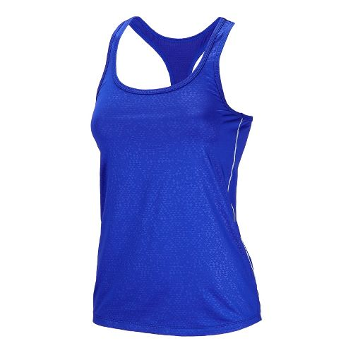Womens New Balance Vitalize Layer Tanks Technical Tops - UV Blue XL