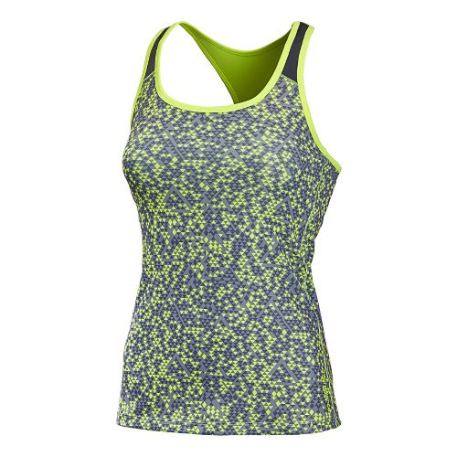 Womens New Balance Get Back Racerback Sports Bras - Solar Yellow M