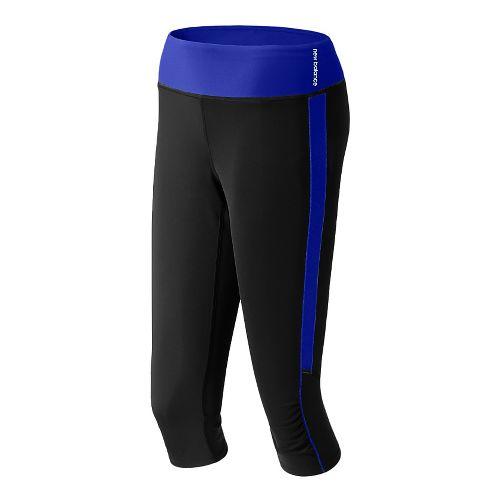 Womens New Balance Vitalize Capri Tights - UV Blue XS