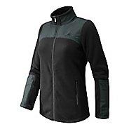 Womens New Balance Essentials Micro Fleece Full Zip Warm-Up Unhooded Jackets