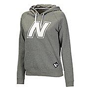 Womens New Balance Essentials Pullover Hoodie Warm-Up Hooded Jackets