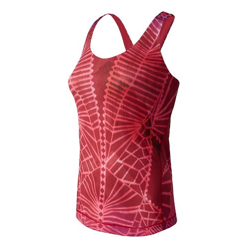 Womens New Balance Kama Racerback Sport Top Bras - Multi Color L