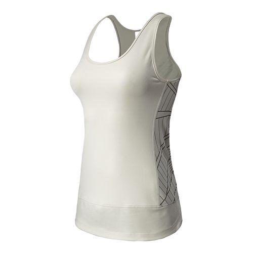 Womens New Balance Mantra Pratice Layer Tanks Technical Tops - Ivory XS